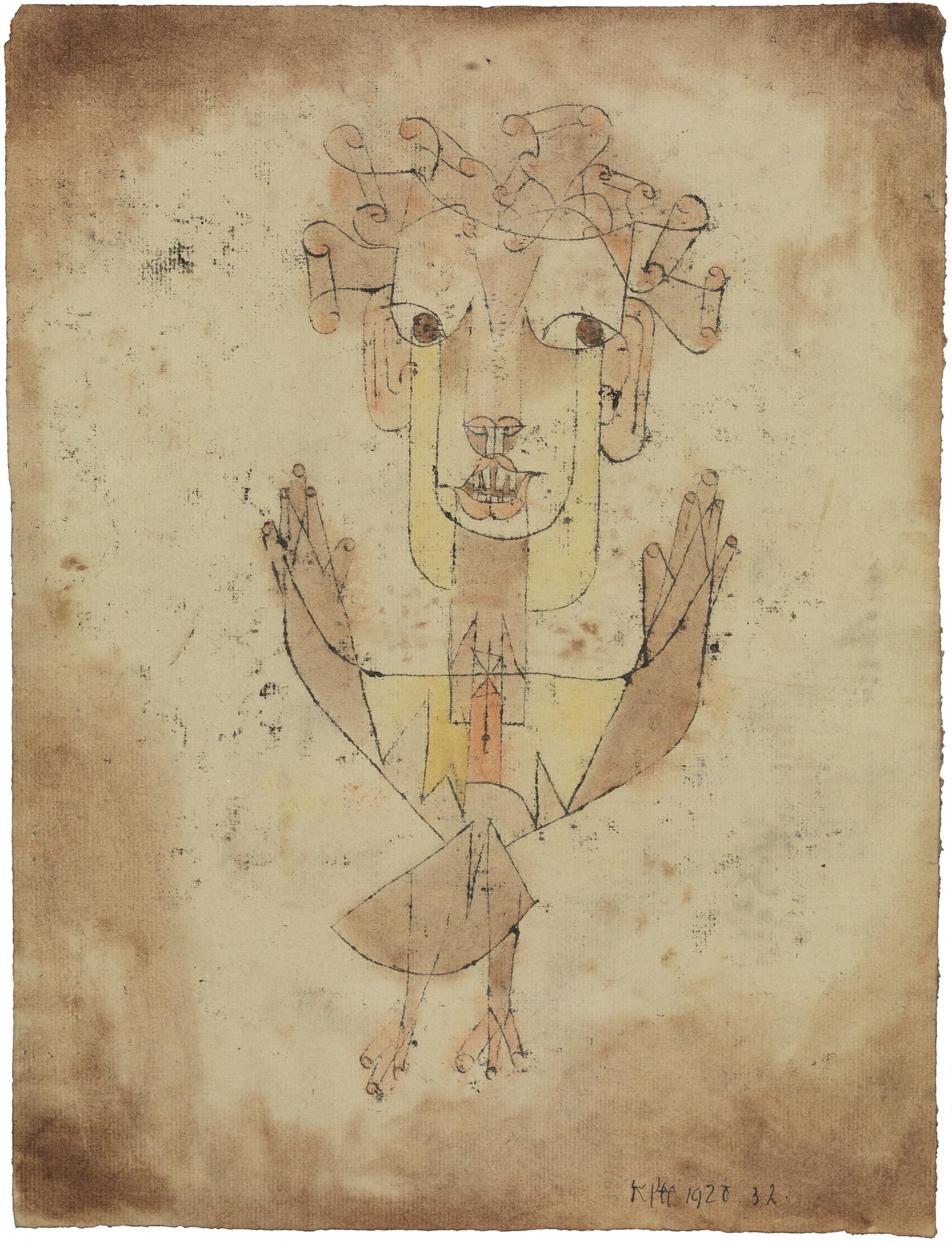 Angelus Novus, e. Paul Klee